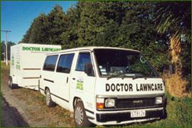 Doctor lawncare new zealand for Garden maintenance van
